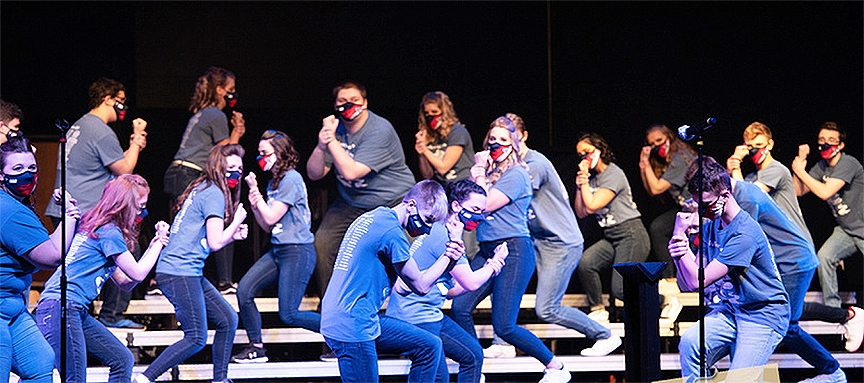 The RAHS Choraliers Home Show took place this past weekend at the CAL Center. Three shows were performed in front of a limited audience of family and...